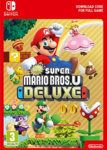 New Super Mario Bros. U Deluxe Switch (EU) cheap key to download