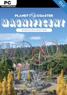 Planet Coaster PC - Magnificent Rides Collection DLC cheap key to download