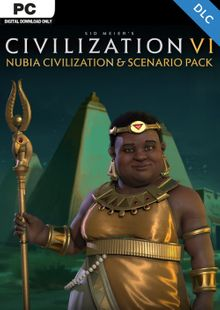 Sid Meier's Civilization VI 6: Nubia Civilization and Scenario Pack PC (WW) cheap key to download