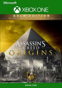 Assassin's Creed Origins - Gold Edition Xbox One (UK) cheap key to download
