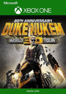 Duke Nukem 3D 20th Anniversary World Tour Xbox One (UK) cheap key to download
