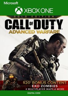Call of Duty Advanced Warfare Gold Edition Xbox One (UK) cheap key to download
