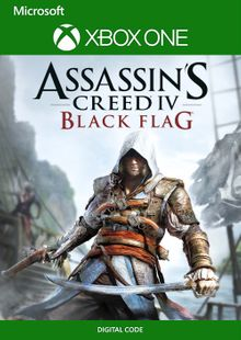 Assassin's Creed IV 4 - Black Flag Xbox One (UK) cheap key to download
