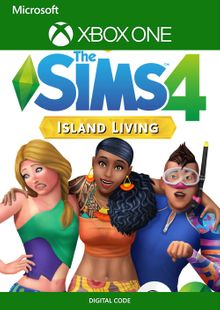 The Sims 4 - Island Living Xbox One (UK) cheap key to download