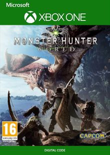Monster Hunter World Xbox One (UK) cheap key to download