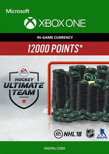 NHL 18: Ultimate Team NHL Points 12000 Xbox One cheap key to download
