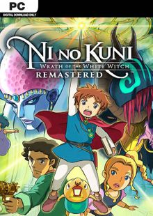 Ni no Kuni Wrath of the White Witch Remastered PC cheap key to download