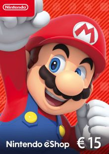 Nintendo eShop £15 card Nintendo 3DS/DS/Wii/Wii U cheap key to download