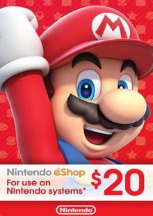 Nintendo eShop Card $20 (USA) billig Schlüssel zum Download
