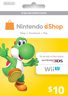 Nintendo eShop Card 10 USD cheap key to download