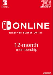 Nintendo Switch Online 12 Month (365 Day) Membership Switch (US) cheap key to download
