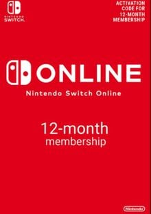 Nintendo Switch Online 12 Month (365 Day) Membership Switch (US) clé pas cher à télécharger