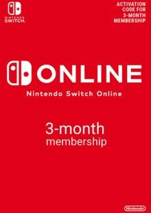 Nintendo Switch Online 3 Month (90 Day) Membership Switch (EU) billig Schlüssel zum Download