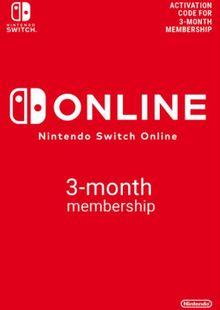 Nintendo Switch Online 3 Month (90 Day) Membership Switch (US) billig Schlüssel zum Download