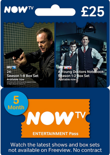 NOW TV - Entertainment 5 Month Pass cheap key to download