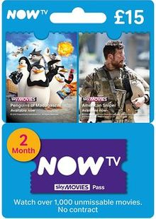 NOW TV - Movies 2 Month Pass cheap key to download