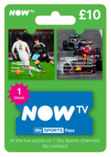 NOW TV - Sky Sports 1 Week Pass cheap key to download