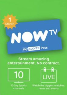 NOW TV - 1 Month Sports Pass cheap key to download