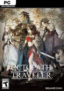 Octopath Traveler PC cheap key to download