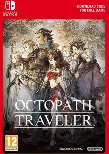 Octopath Traveler Switch billig Schlüssel zum Download