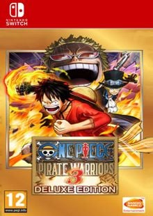 One Piece Pirate Warriors 3 - Deluxe Edition Switch (EU) cheap key to download