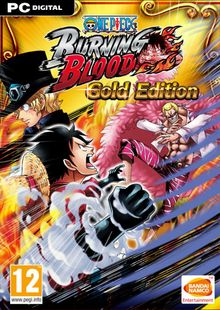 One Piece Burning Blood Gold Edition PC clé pas cher à télécharger