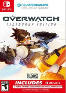 Overwatch Legendary Edition + 3 Month Membership Switch (EU) cheap key to download