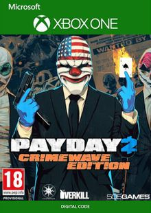PAYDAY 2 - Crimewave Edition Xbox One (UK) cheap key to download