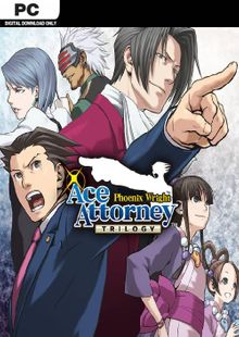 Phoenix Wright: Ace Attorney Trilogy PC cheap key to download