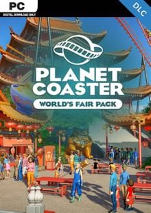 Planet Coaster PC - World's Fair Pack DLC cheap key to download