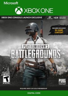 PlayerUnknown's Battlegrounds (PUBG) Xbox One billig Schlüssel zum Download