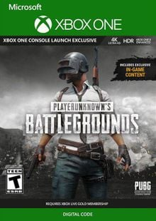 PlayerUnknowns Battlegrounds (PUBG) Xbox One (UK) cheap key to download
