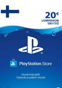 Playstation Network (PSN) Card 20 EUR (Finland) cheap key to download