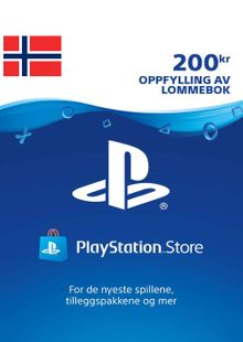Playstation Network (PSN) Card 200 NOK (Norway) cheap key to download