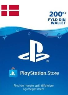 Playstation Network (PSN) Card 200 DKK (Denmark) cheap key to download