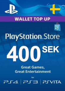 Playstation Network (PSN) Card 400 SEK (Sweden) cheap key to download