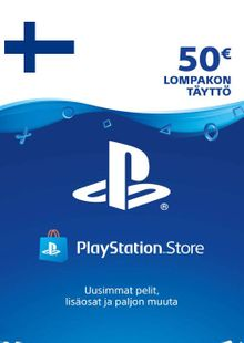 Playstation Network (PSN) Card 50 EUR (Finland) cheap key to download