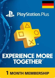 PlayStation Plus - 1 Month Subscription (Germany) cheap key to download