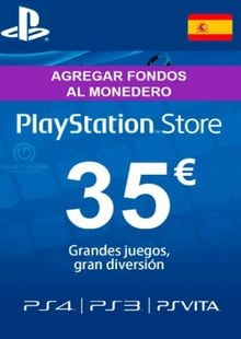 PlayStation Network (PSN) Card - 35 EUR (Spain) cheap key to download
