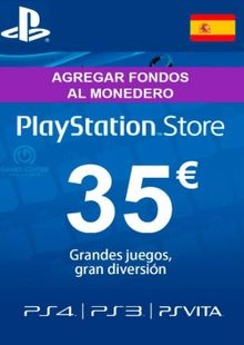 PlayStation Network (PSN) Card - 35 EUR (Spain) clave barata para descarga