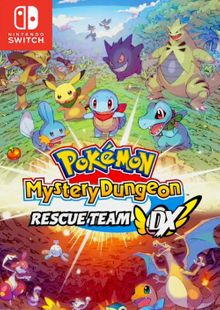 Pokémon Mystery Dungeon: Rescue Team DX Switch (EU) clé pas cher à télécharger