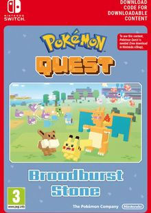 Pokemon Quest - Broadburst Stone Switch (EU) cheap key to download