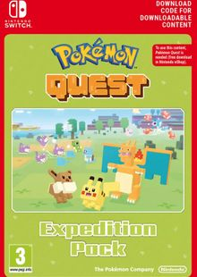 Pokemon Quest - Expedition Pack Switch clé pas cher à télécharger