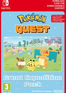 Pokemon Quest - Great Expedition Pack Switch (EU) clé pas cher à télécharger