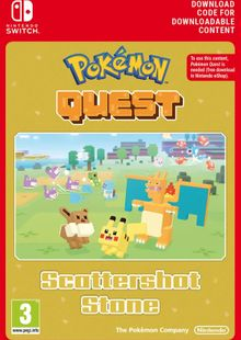 Pokemon Quest - Scattershot Stone Switch clé pas cher à télécharger