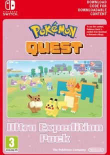 Pokemon Quest Ultra Expedition Pack Switch clé pas cher à télécharger