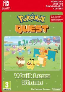 Pokemon Quest - Wait Less Stone Switch (EU) clé pas cher à télécharger