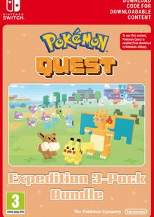 Pokemon Quest Expedition 3-Pack Bundle Switch clé pas cher à télécharger