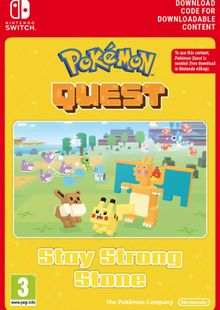 Pokemon Quest - Stay Strong Stone Switch (EU) clé pas cher à télécharger
