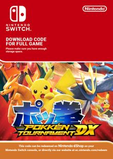 Pokken Tournament DX Switch (EU) billig Schlüssel zum Download